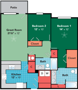 Apartments for rent in Fayetteville, North Carolina
